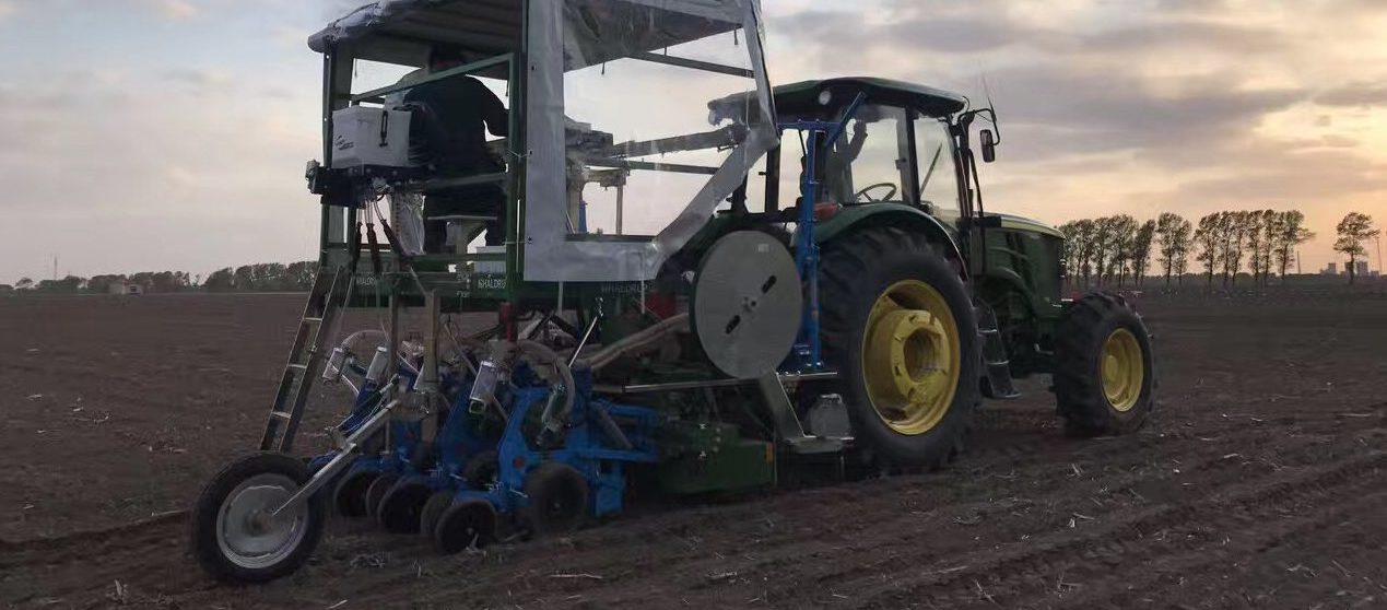 Tractor agroensayos